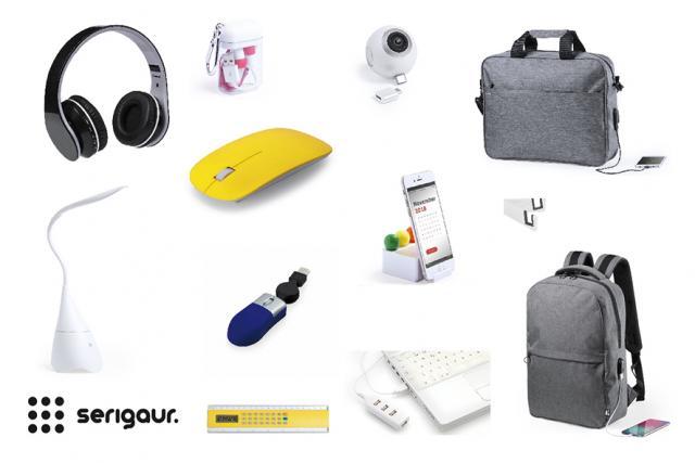 Productos promocionarles seleccionados para el teletrabajo