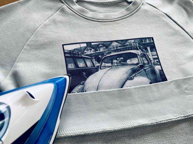 Cómo planchar la ropa con ilustraciones impresas