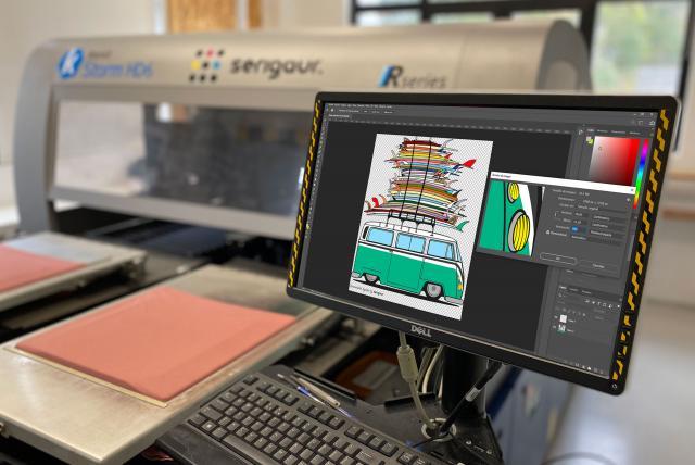 Archivos para impresión digital textil
