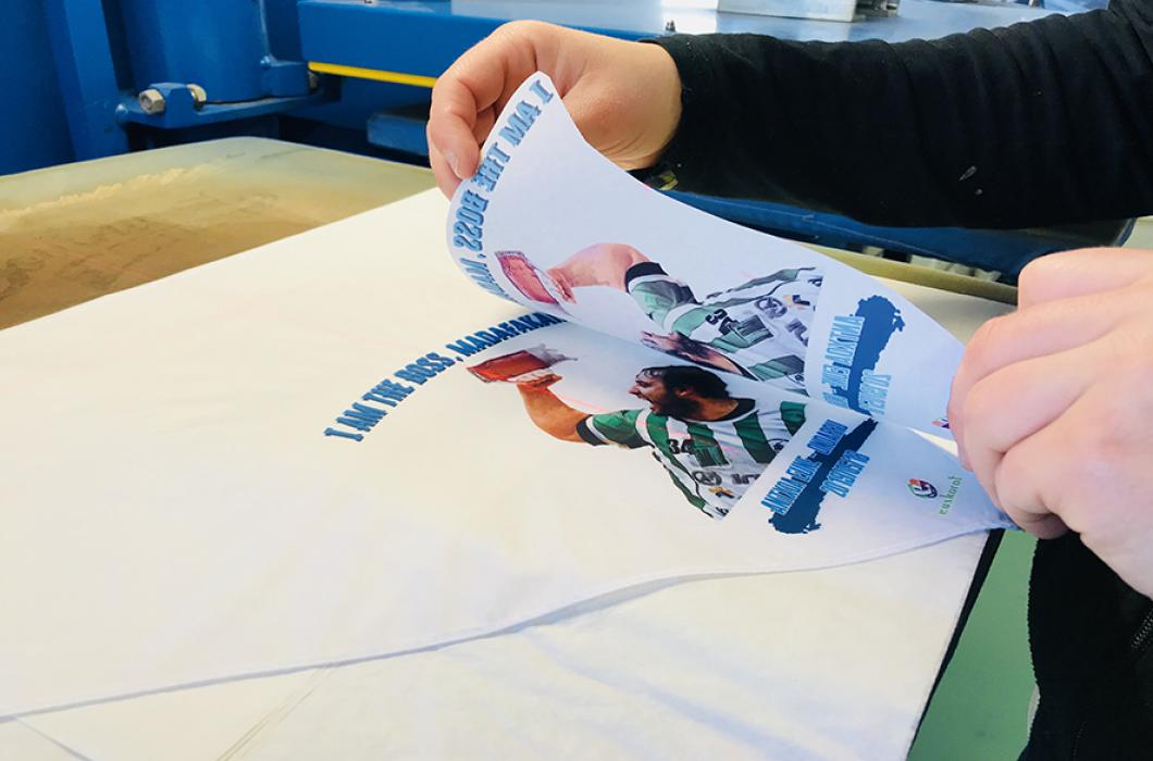 Sublimation on small format